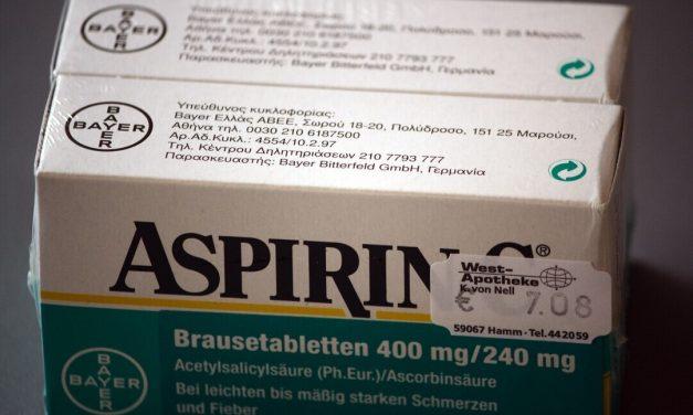 Dosis bajas de aspirina podrían disminuir muertes por Covid-19