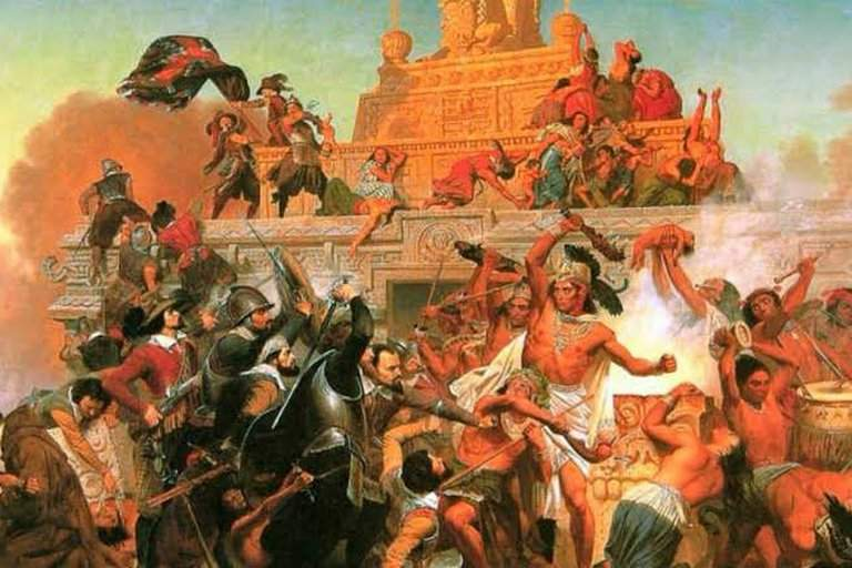 La caída de Tenochtitlan, un imperio derrumbado por la violencia, la viruela y una vagina