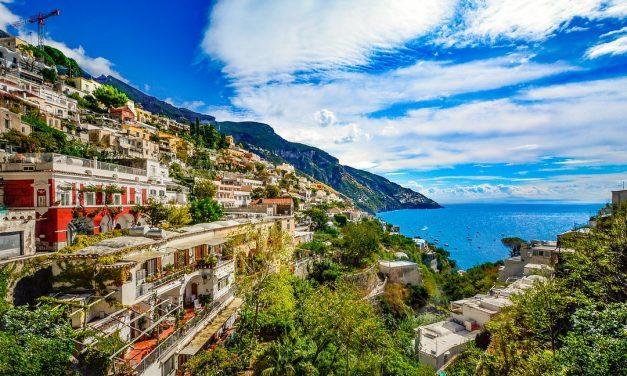 Costa Amalfitana, destino turístico de lujo en Italia