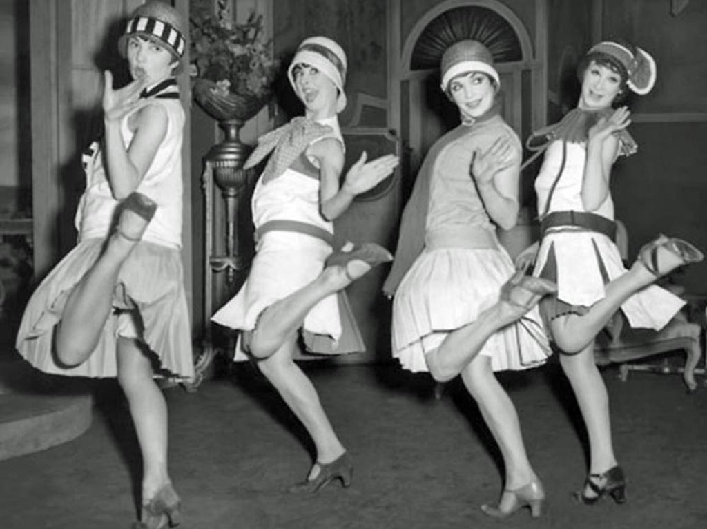 Las flappers eran mujeres sexys e irreverentes que apostaron por un estilo de vida diferente.