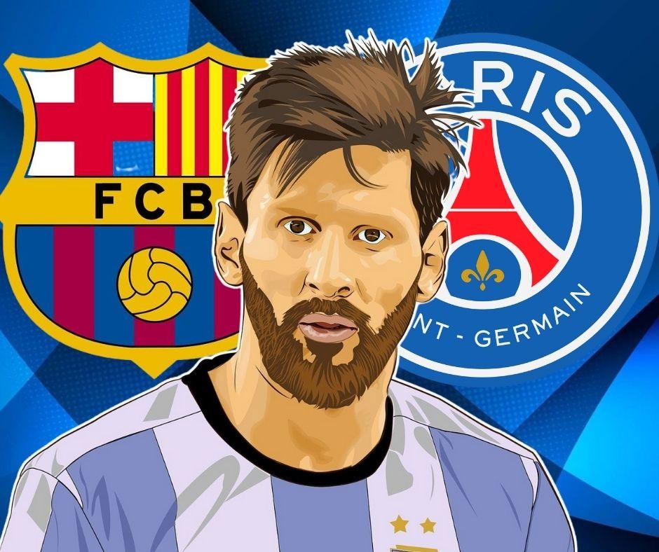 Messi entre el Barca y el PSG